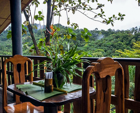 restaurant with a view Eco Logic Thailand